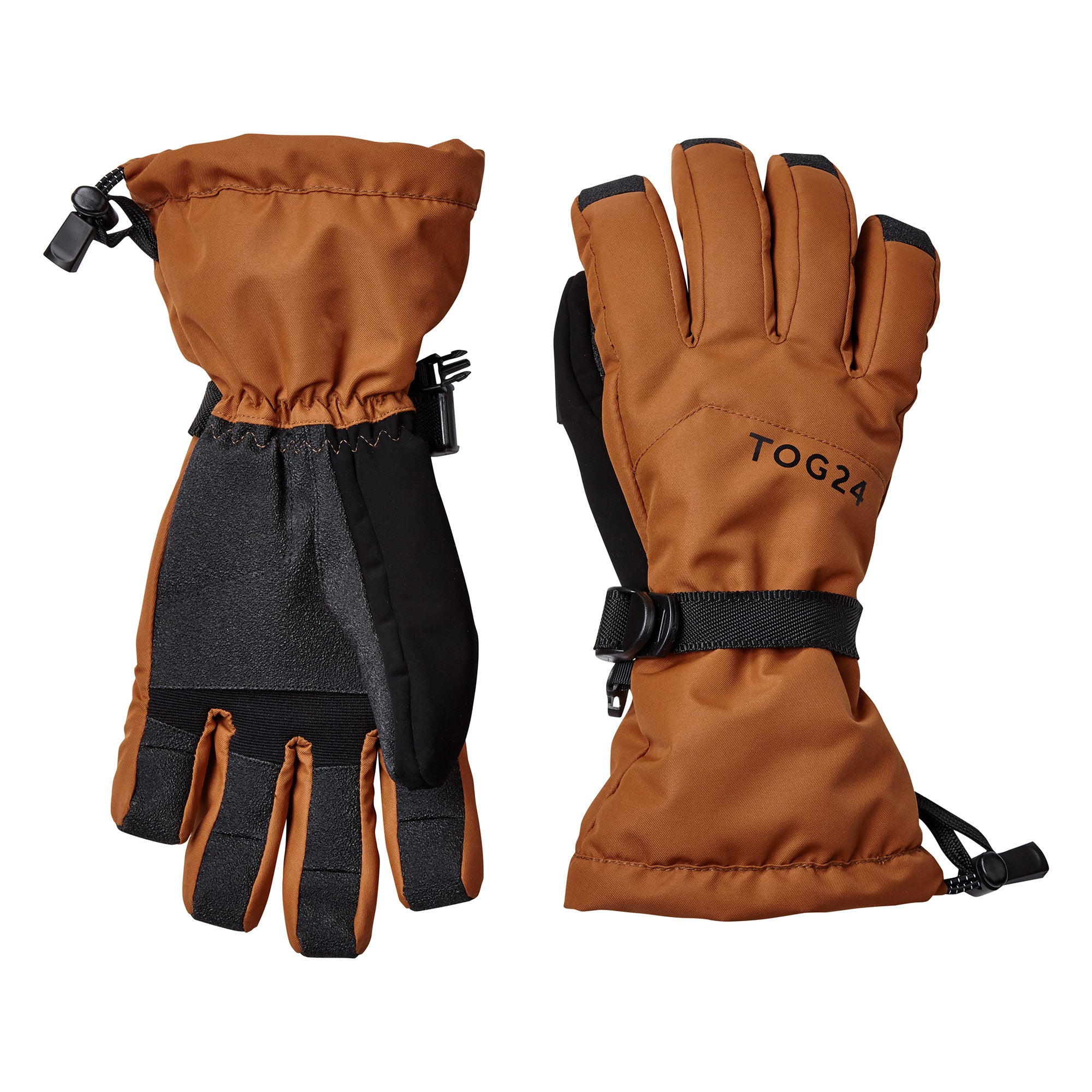 Lockton Waterproof Ski Gloves - Amber