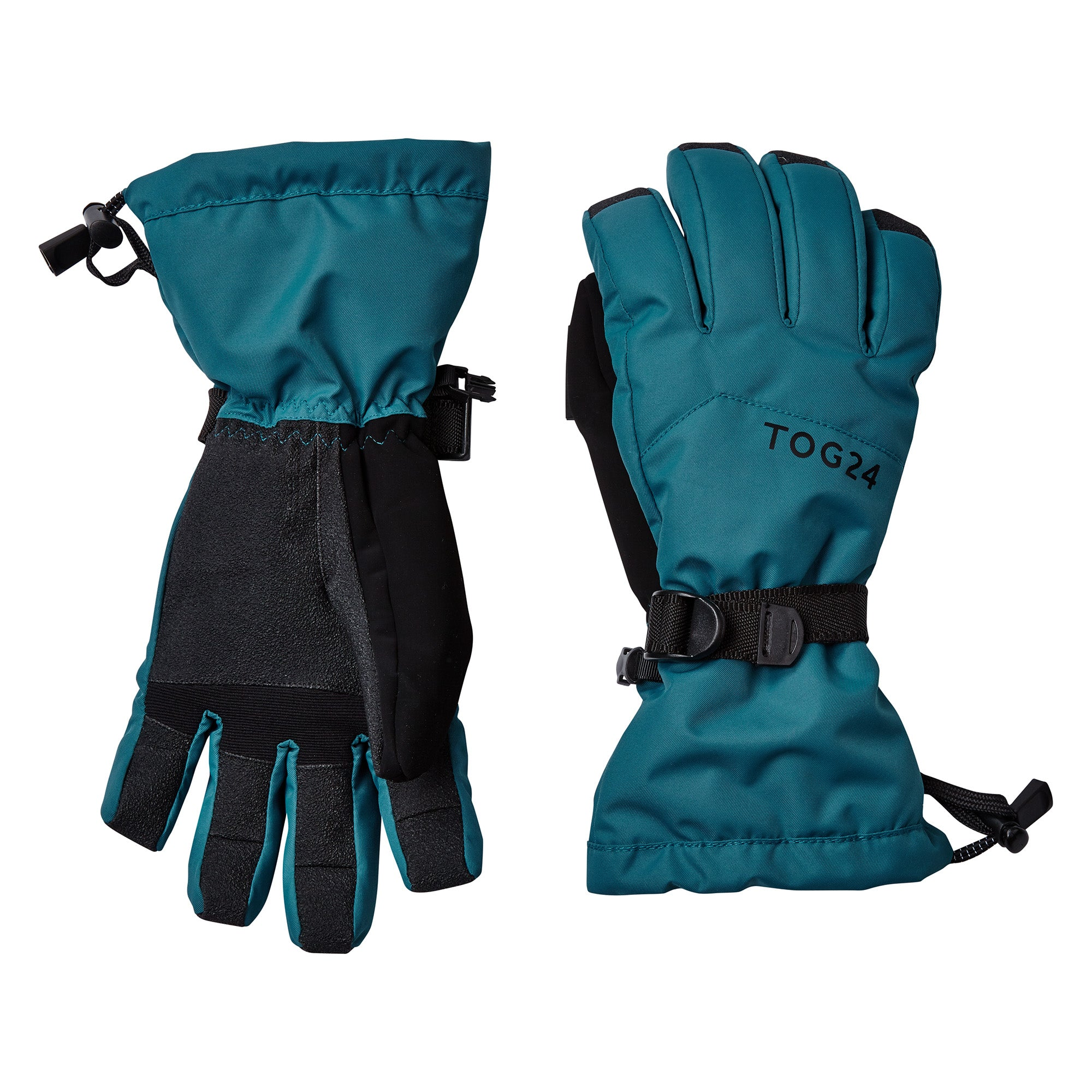 Lockton Waterproof Ski Gloves - Lagoon Blue