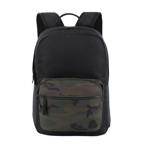 Marton Backpack - Black/Camo