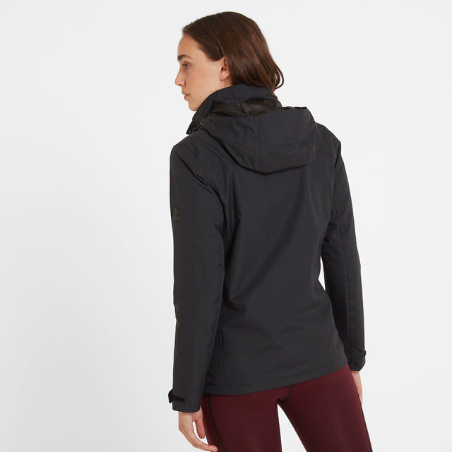 Mawson Womens Waterproof Jacket - Black image 3