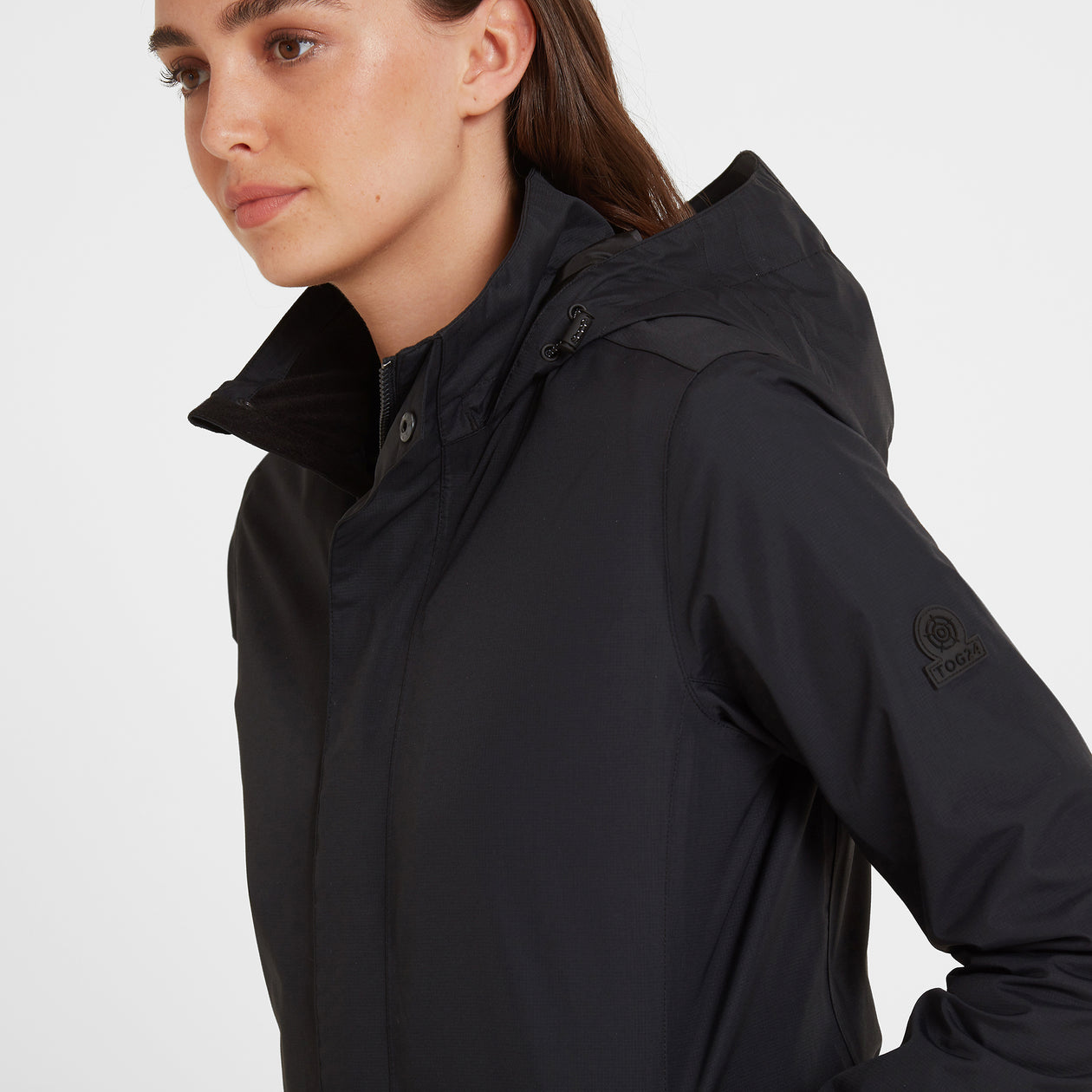Mawson Womens Waterproof Jacket - Black image 4