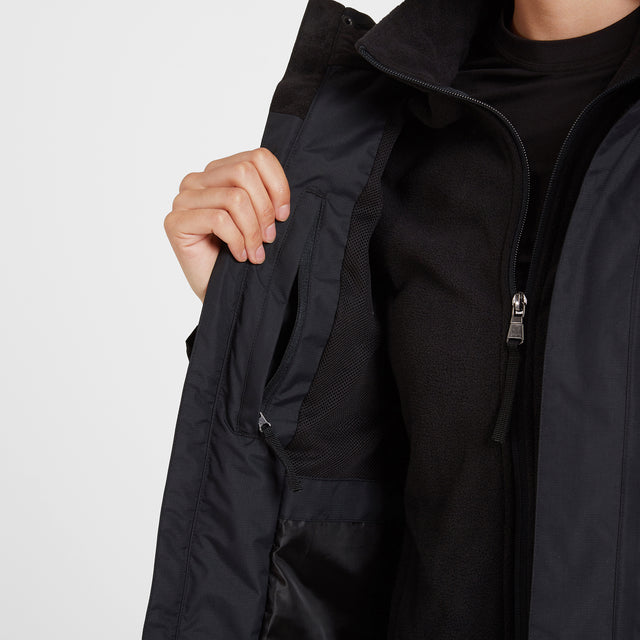 Mawson Womens Waterproof Jacket - Black image 5