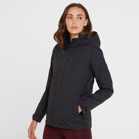Mawson Womens Waterproof Jacket - Black