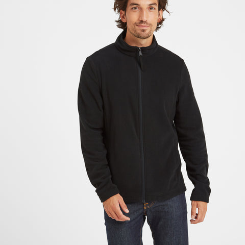 Shire Mens Fleece Jacket - Black