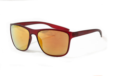 Horton Sunglasses  - Red/Red