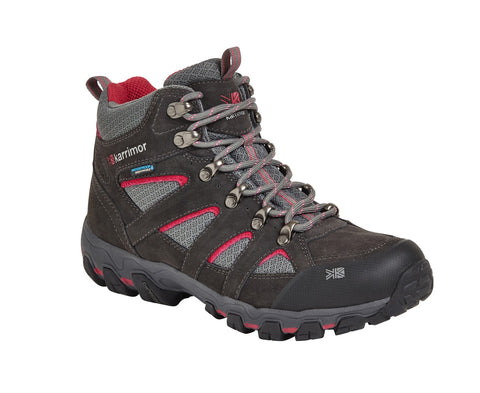 Karrimor Bodmin Mid V Womens Boots - Dark Grey/Cochineal