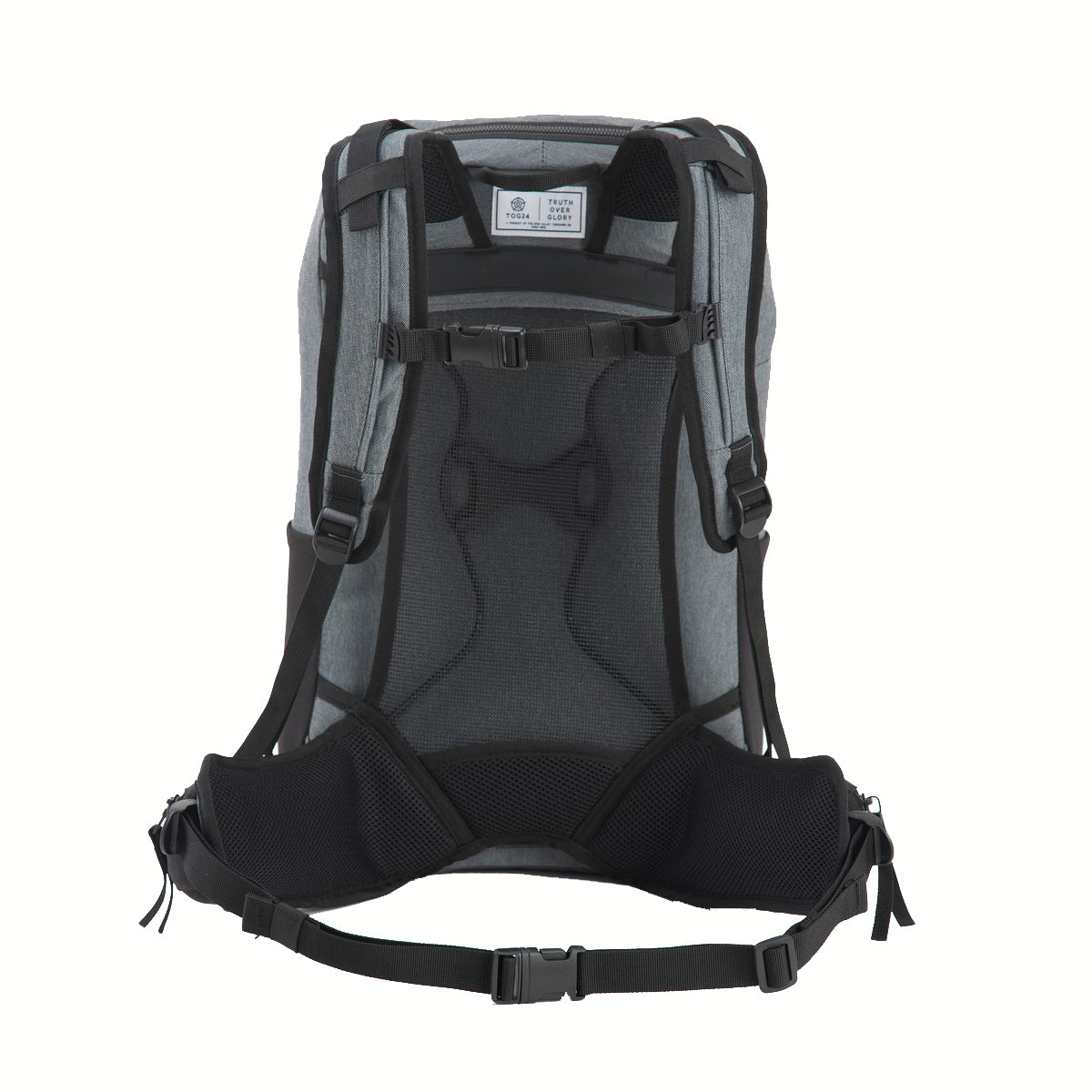 Flint 30L Technical Backpack - Dark Grey Marl image 4
