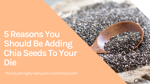 5 Reasons You Should Be Adding Chia Seeds To Your Diet