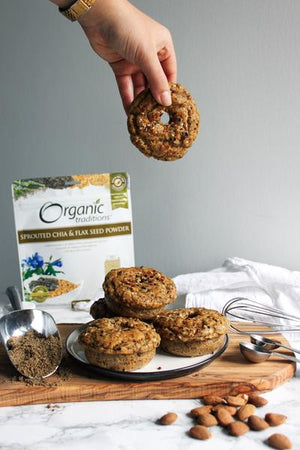 Sprouted Grain Free Everything Bagels