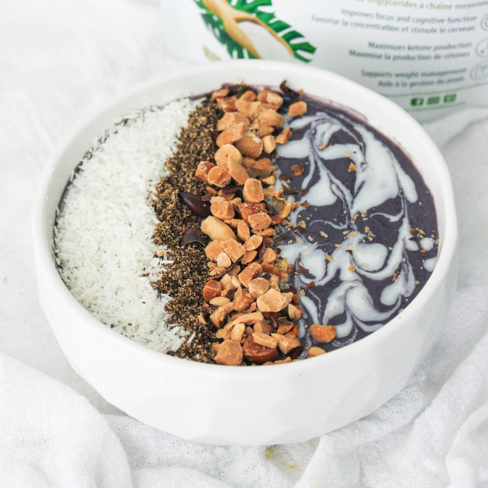 Keto Acai Smoothie Bowl