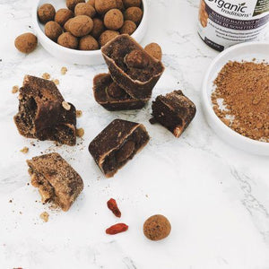 Prebiotic No-Bake Truffles: Hazelnut Edition