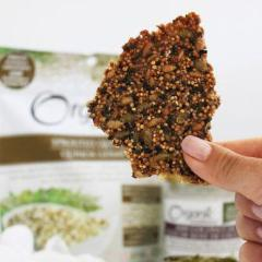 Slightly Sweet Superseed Crackers