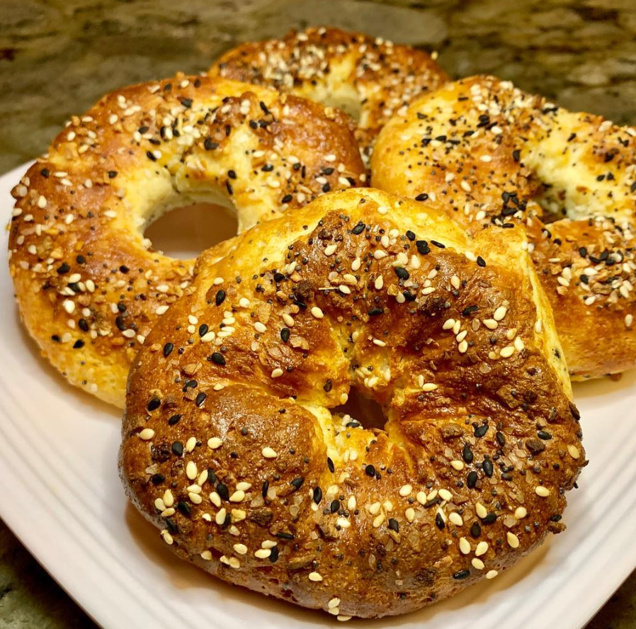 Angel's FAMOUS Yogurt Bagels | Peak Yogurt