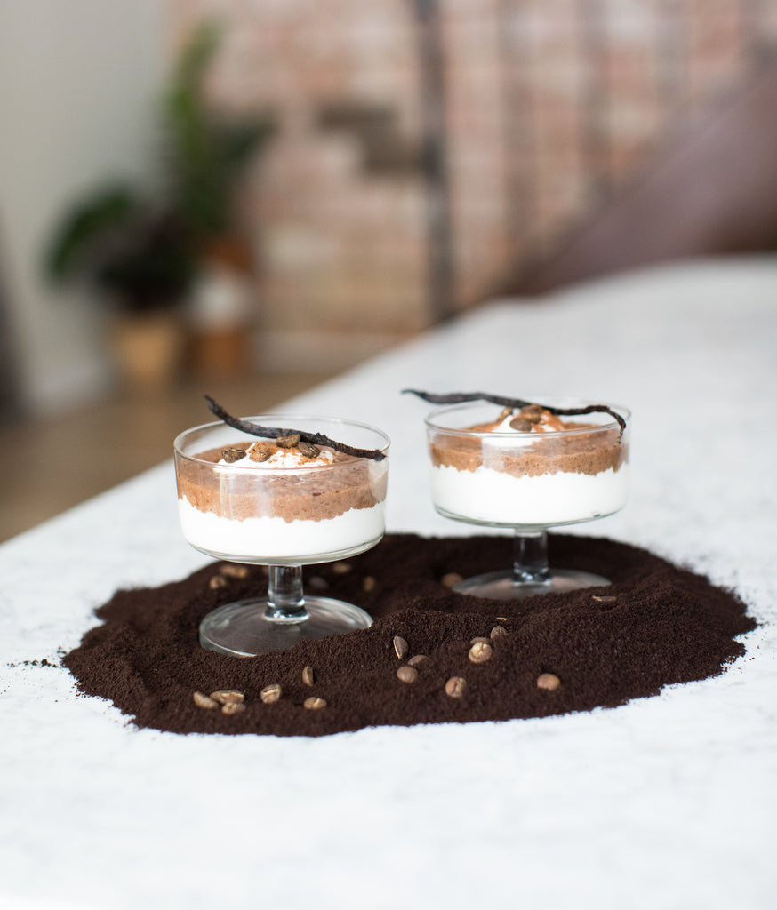 Vanilla Coffee Chia Pudding