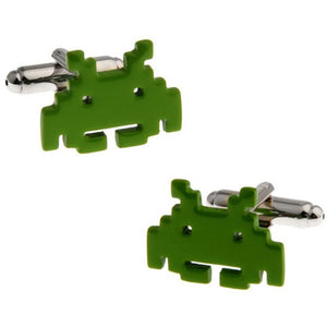 Video Game Space Invaders Cufflinks