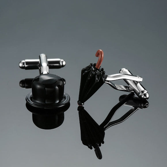 Tophat and Umbrella Cufflinks