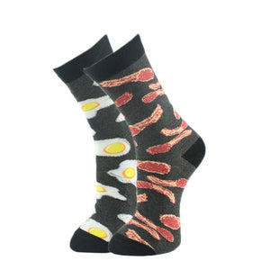 Bacon and Eggs Men's Socks