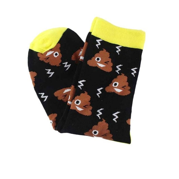 Poop Emoji Women's Socks