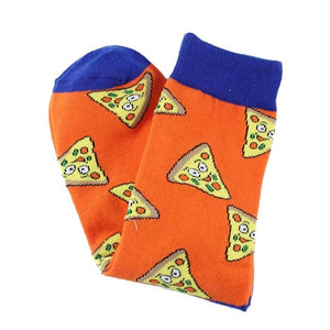 Orange Pizza Women's Socks