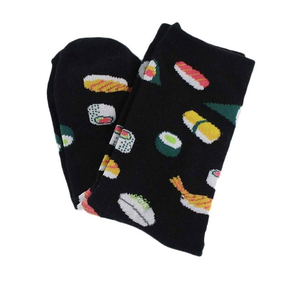 Black Sushi Women's Socks