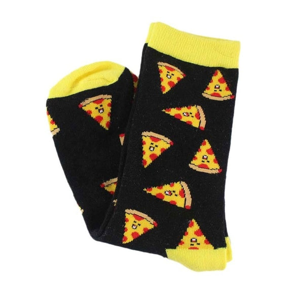Pizza Face Women's Socks