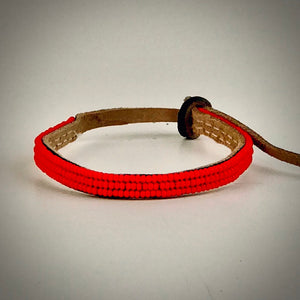 Armband one color red
