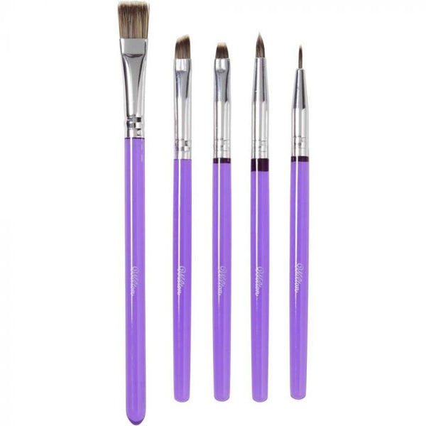 Decorating Brush Set Of 5 By Wilton