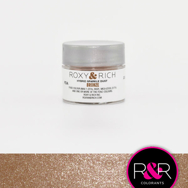 bronze sparkle dust roxy rich