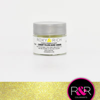 canary yellow sparkle dust roxy rich