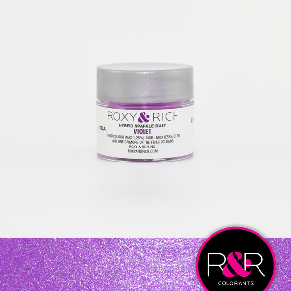 violet sparkle dust roxy rich