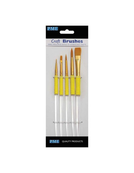 Craft Brush Set of 5 by PME