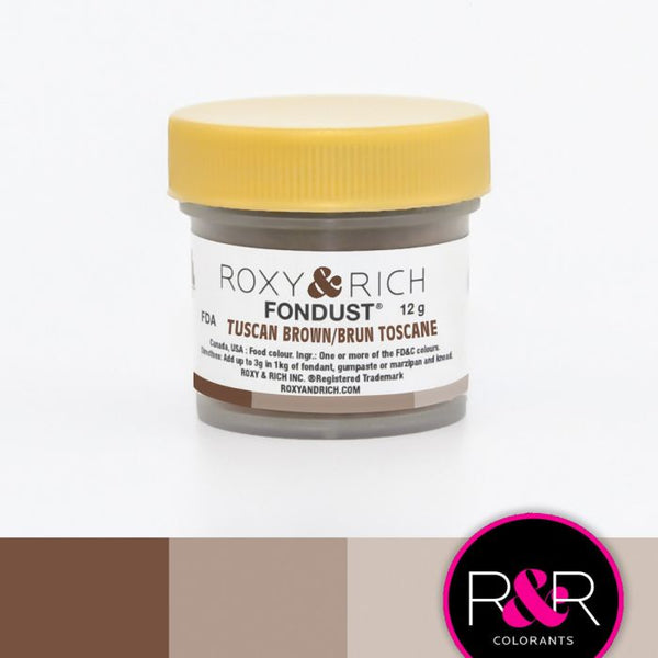 Tuscan Brown FONDUST Hybrid Coloring
