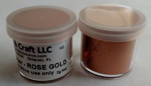 Rose Gold Highlighter Dust