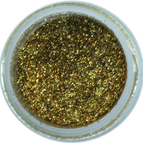 hologram gold galaxy dust