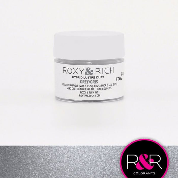 Grey Hybrid Luster Dust by Roxy & Rich