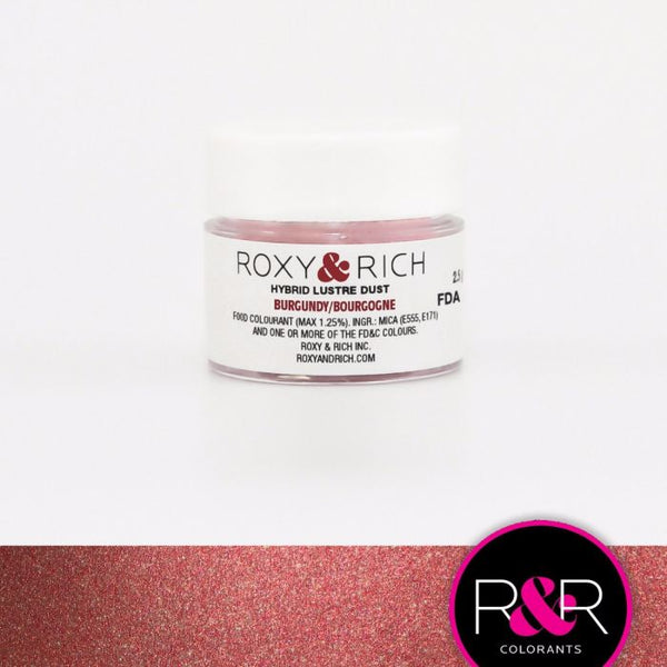 Burgundy Hybrid Luster Dust by Roxy & Rich