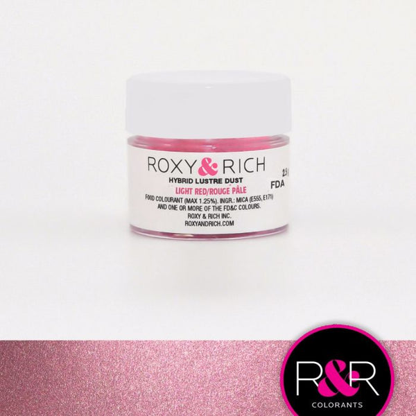 Light Red Hybrid Luster Dust by Roxy & Rich
