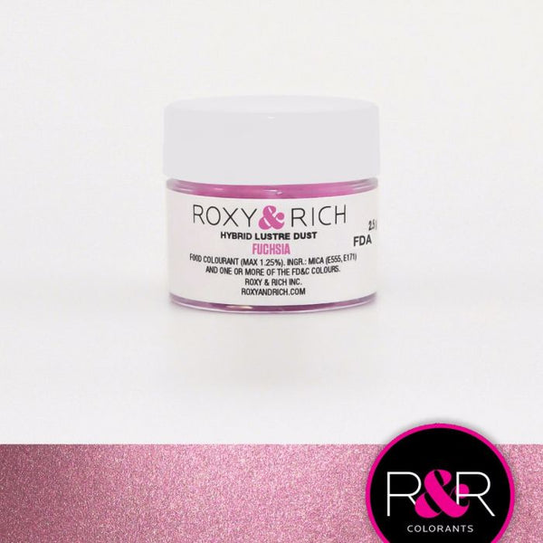 Fuchsia Hybrid Luster Dust by Roxy & Rich