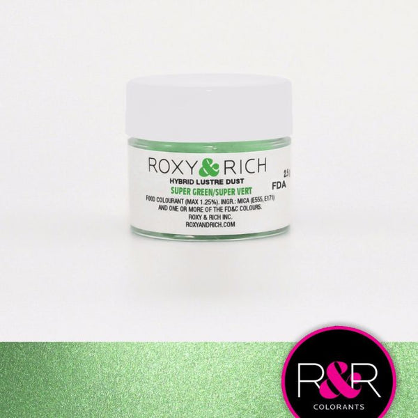 Super Green Hybrid Luster Dust by Roxy & Rich