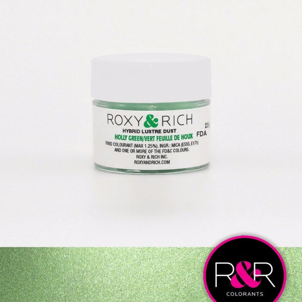 Holly Green Hybrid Luster Dust by Roxy & Rich
