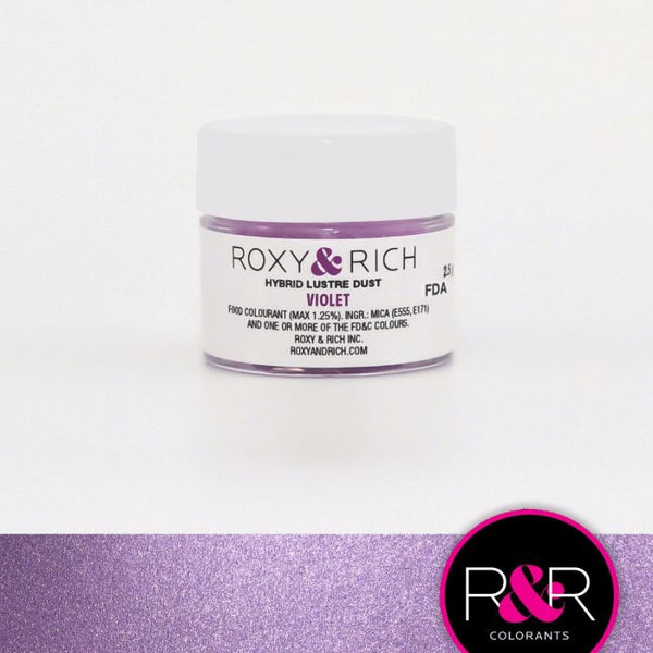 Violet Hybrid Luster Dust by Roxy & Rich