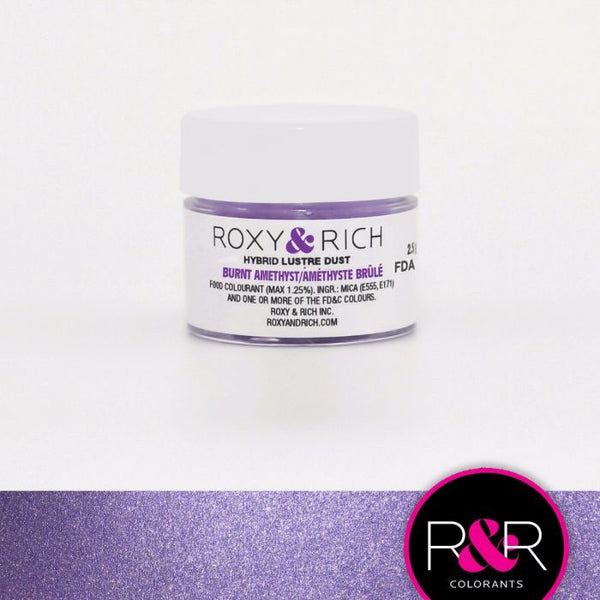 Burnt Amethyst Hybrid Luster Dust by Roxy & Rich