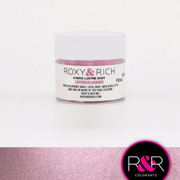 Lavender Hybrid Luster Dust by Roxy & Rich