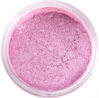 pink orchid luster dust