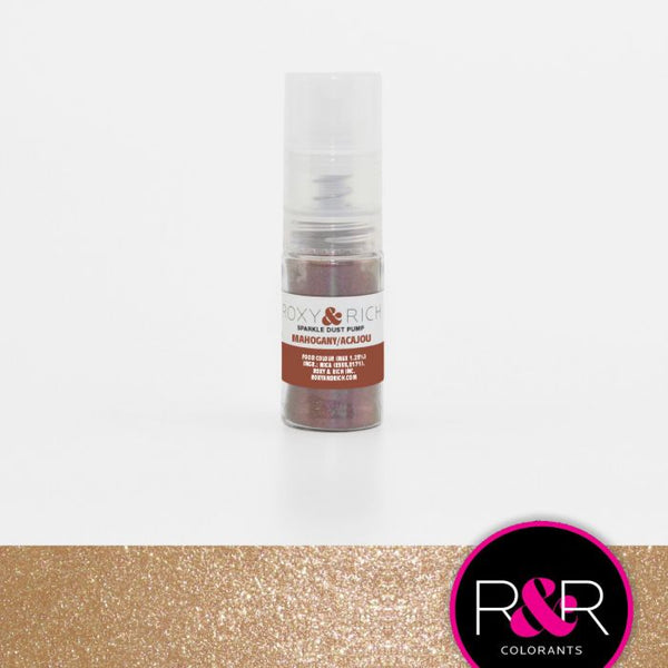 Mahogany Sparkle Dust Pump by Roxy & Rich