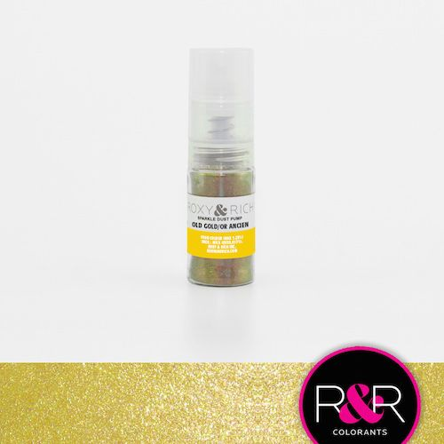 Old Gold Sparkle Dust Pump by Roxy & Rich