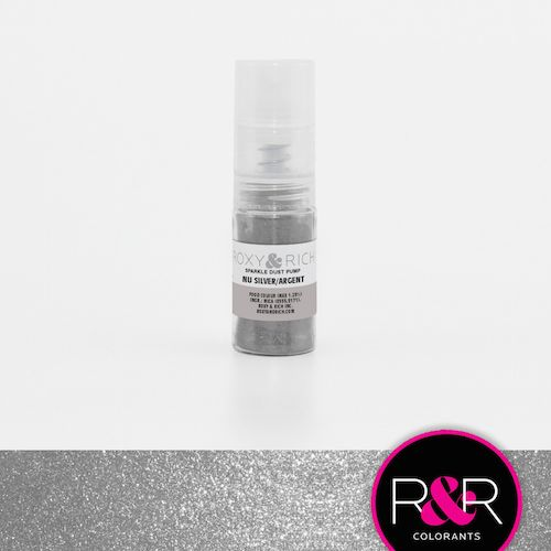 Nu Silver Sparkle Dust Pump by Roxy & Rich