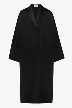 Reversible black robe