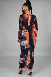 Selena Tie Dye Maxi Dress - FINAL SALE