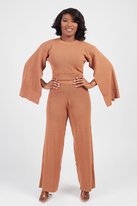 Cozy Knit Pant Set - FINAL SALE